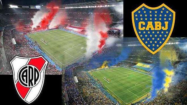2. Boca Juniors vs River Plate