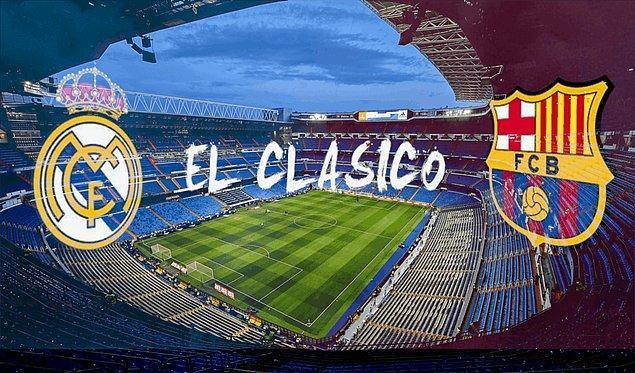 4. Barcelona vs Real Madrid