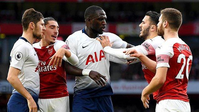 7. Arsenal vs Tottenham