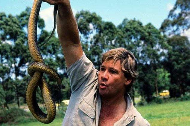 13. Altı yaşındayken ilk zehirli yılanını yakaladı...