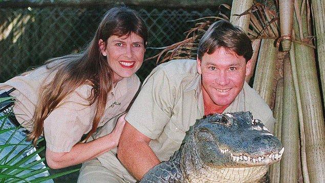 12. Eşi Terri ile hayvanat bahçesini ziyaret ettiğinde tanıştılar...