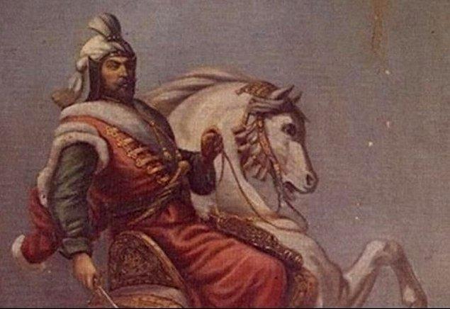 1639'da Hint hükümdarı Hürrem Şah tarafından IV. Murat'a, mücevherli kemer ve fil kulağından yapılıp gergedan postu kaplanmış bir kalkan hediye edildi.