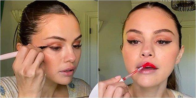Geçtiğimiz gün Vogue'un YouTube kanalı için bir makyaj videosu çeken Selena Gomez, sosyal medyada dalga konusu oldu...