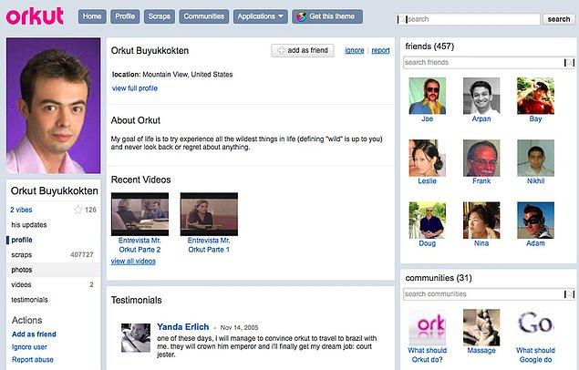 6. Bir Türk gururu: Orkut