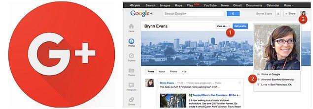 7. İş insanlarının platformu: Google+