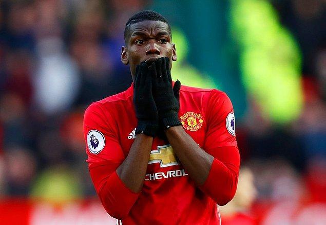 9. Paul Pogba - Man. United