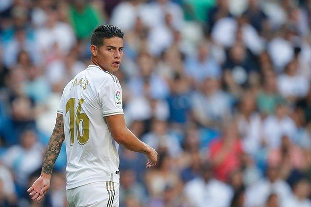 15. James Rodriguez - Real Madrid