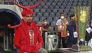 Fenerbahçe'nin İlginç Kupa Töreni: Törene Kırmızı Kostümlü Karakter Damga Vurdu