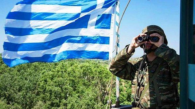 Yunanistan sınıra takviye birlikler gönderdi