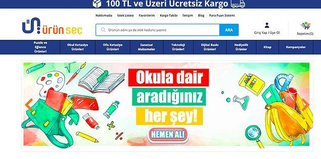 Heyecanımız hazır tazeyken, sizi online bir kırtasiye firması olan urunsec.com ile tanıştırmak istiyoruz!