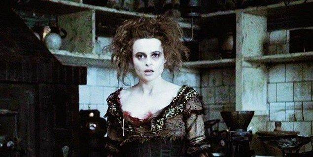 3. Helena Bonham Carter - Sweeney Todd: The Demon Barber of Fleet Street