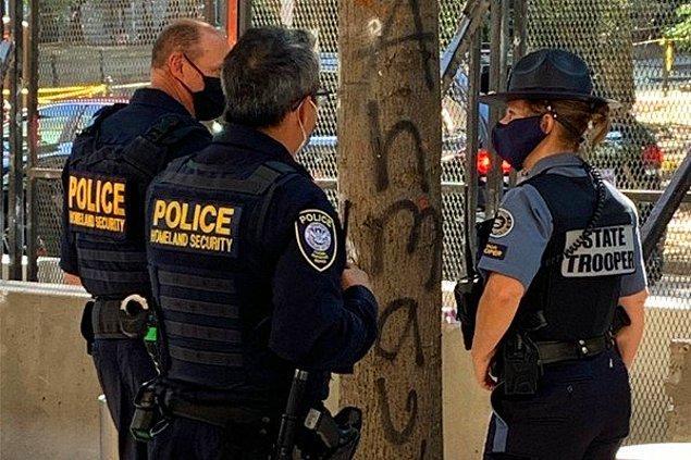Polis teşkilatı olaya ilişkin açıklama yaptı.