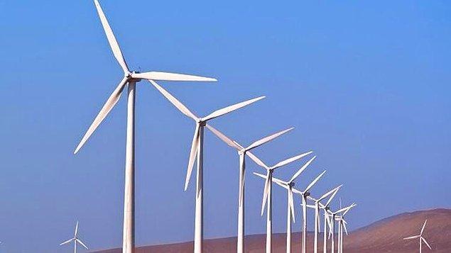 3. Eğer dünyadaki tüm enerjinin %10'u rüzgar gülleriyle karşılansaydı, rüzgar çiftliklerinin bulunduğu bölgelerde sıcaklık 1 derece artardı.