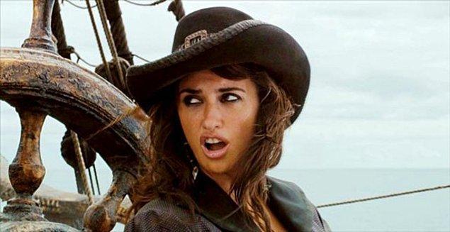 9. Penelope Cruz - Pirates of The Caribbean: On Stranger Tides
