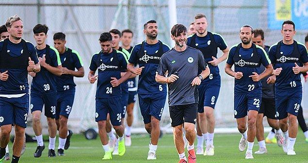 Konyaspor. da yeni sezona kendi tesislerinde hazırlandı.