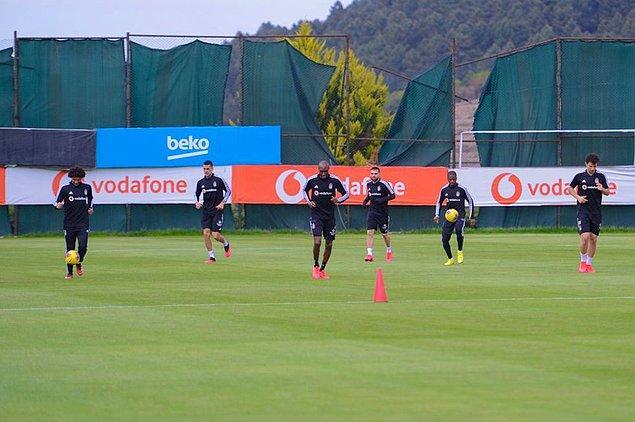 Beşiktaş, Süper Lig için BJK Nevzat Demir Tesisleri'nde iki ayrı kamp yaptı.