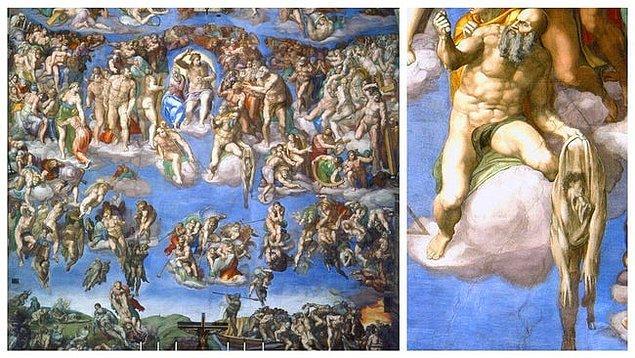 12. 'Son Yargı', Michelangelo