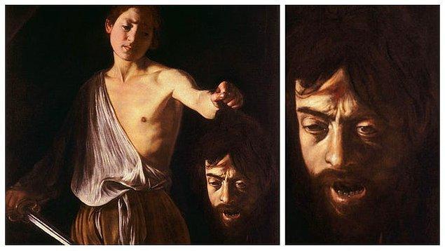 5. 'Davud ve Goliath'ın Başı', Caravaggio