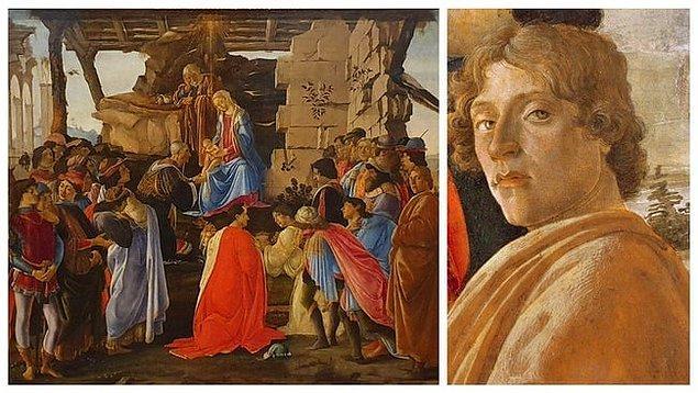 8. 'Magi'nin Hayranlığı', Sandro Botticelli
