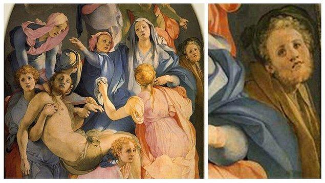 6. 'İsa'nın Çarmıhtan İndirilişi', Pontormo