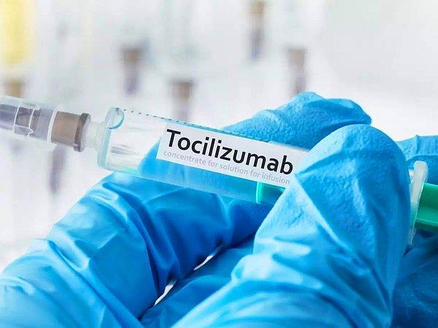 6. Tocilizumab da, tedavide kullanılan diğer bir ilaç olarak karşımıza çıkıyor.