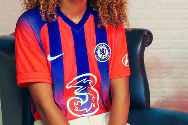 Chelsea'nin yeni forması tam senlik.
