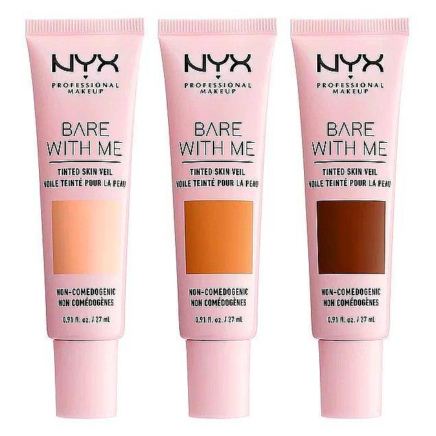 5. Islak ten makyajının olmazsa olması Bare With Me Renkli Nemlendirici, NYX Cosmetics'te!