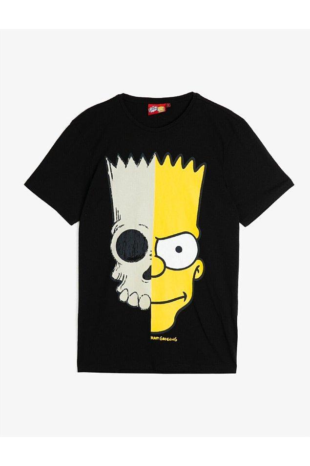 6. Bart Simpson diyince akan sular durur bende. Koton'un erkek reyonundan kendime kaptığım tişört bu da.