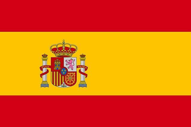 10. İspanya - %1