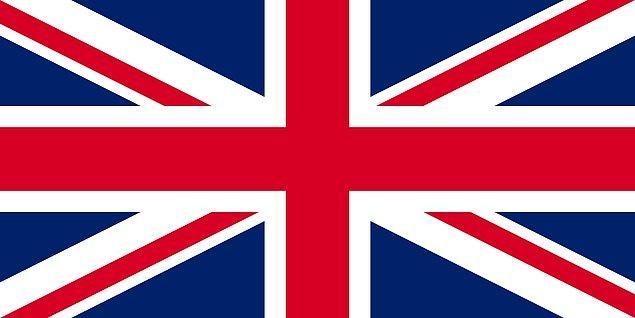8. Birleşik Krallık - %5