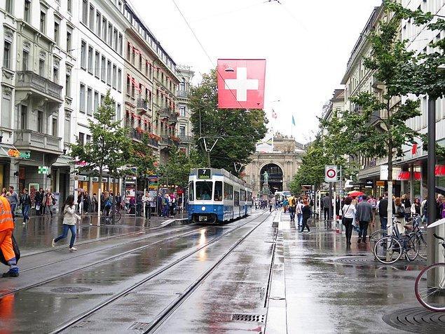 Şimdi de ulaşıma bakalım. İsviçre'de tek yön bilet 4.40 Fr.(35.86 TL); Türkiye'de ise 3.50 TL. Aylık fiyatı ise İsviçre'de 85.00 Fr. (692.75 TL); Türkiye'de 275.00 TL(33.74 Fr)