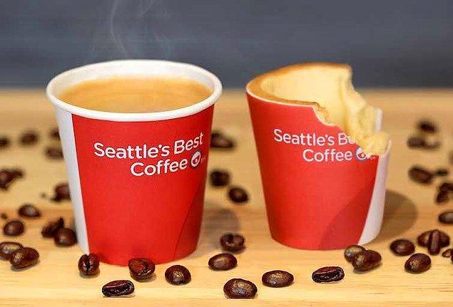 6. Yenilebilir kahve bardakları...