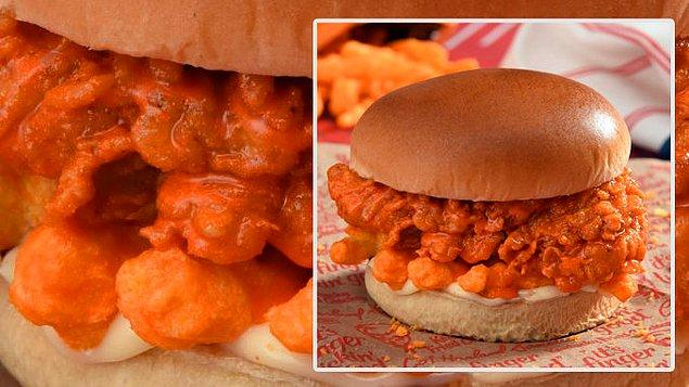 2. Cheetoslu burger...