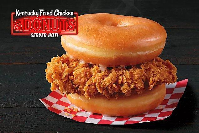 5. Donut burger...