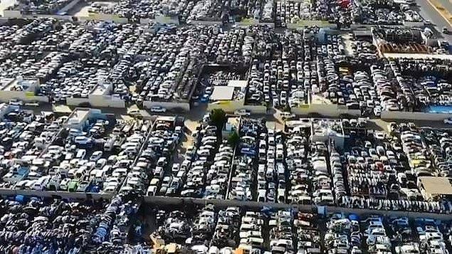 Dünyanın en pahalı otomobil mezarlığı ise Dubai'de!
