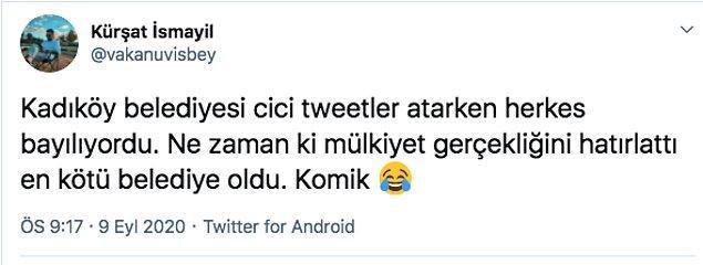 Kadıköy Belediyesi'ne katılan da oldu katılmayan da...