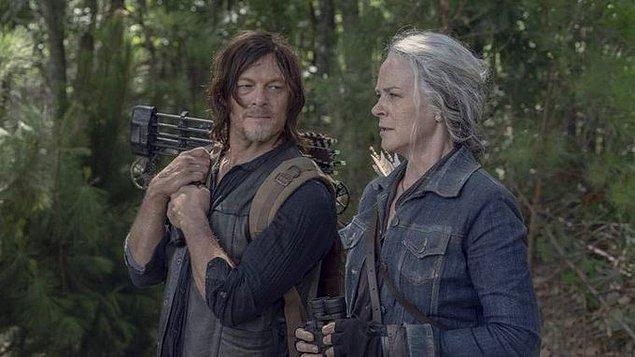 6. The Walking Dead, 2022'de yayına girecek olan 11. sezonuyla ekranlara veda edecek ancak 2023'te Daryl ve Carol'a odaklanacak 'Tales From The Walking Dead' adlı yeni bir dizi yayına girecek.