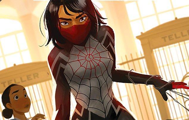 11. Sony, Marvel karakteri Silk'in dizisi için çalışmalara başladı.