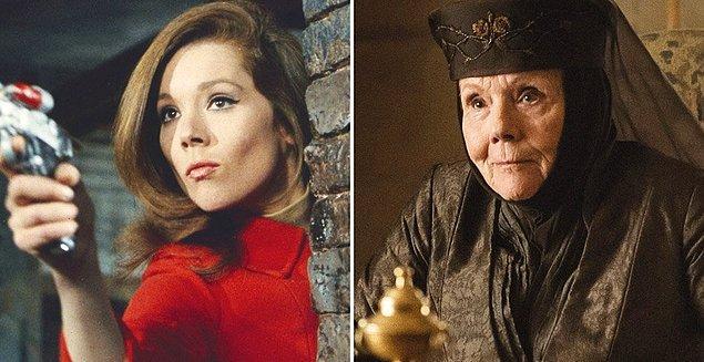 12. Game of Thrones'un Olenna Tyrell'i Diana Rigg, hayatını kaybetti.