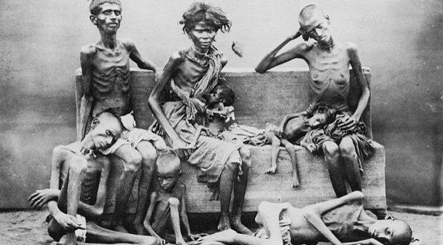 """Tarihçiler, meydana gelmiş bu büyük kıtlığı """"insan yapımı"""" olarak nitelendiriyor."""