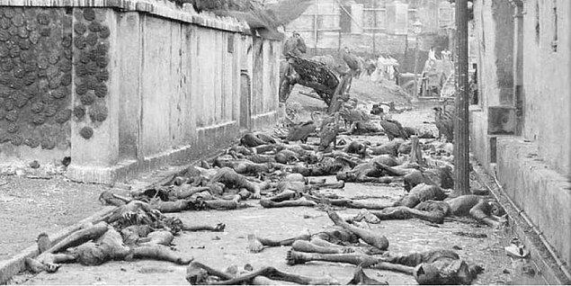 Açlıktan meydana gelen ölümler büyük oranda azaldı, ancak kıtlıkla ilişkili olan ölümlerin büyük bir çoğunluğu 1944 yılında gerçekleşti.