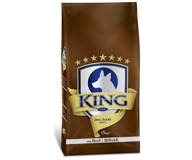 9. King Biftekli Yetişkin Köpek Maması 15 Kg