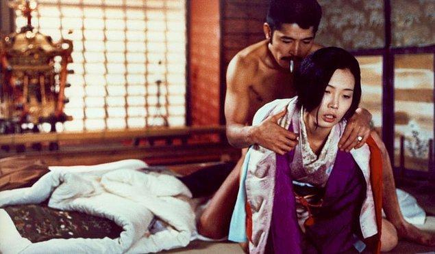 10. Sada Abe ve Kichizo Ishida - In the Realm of the Senses (1976)