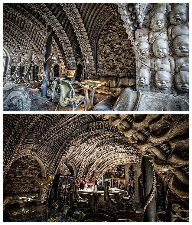 1. HR Giger Museum Bar, İsviçre