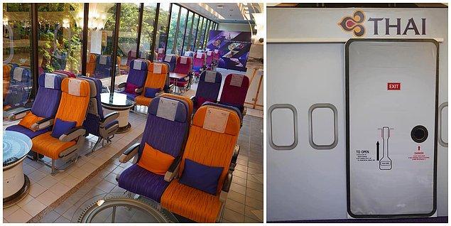 4. Thai Havayolları Uluslararası Restoranı, Tayland