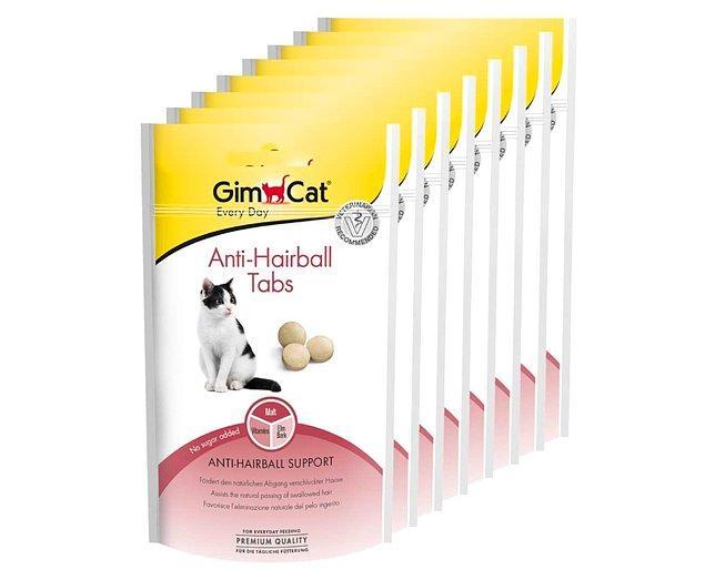 7. Malt ve vitaminlerin bir arada bulunduğu bu tablet mama seçici kediler için vazgeçilmez bir ürün.