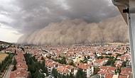 Ankara'da Kum Fırtınası: Başkentte Sarı Uyarı Verildi, Belediye Sağanak Yağışa Karşı Tedbir Çağrısında Bulundu