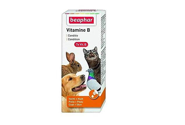 17. Sinir sistemini ve tüy yapısını güçlendiren B vitaminini kedi, köpek ve kuşlarınız için kullanabilirsiniz.