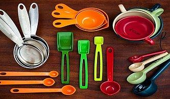 O Kaç Gramdı, Bu Kaç Mililitreydi Diye Düşünmekten Kurtulmanızı Sağlayacak Mutfaktaki Tüm Ürünlerin Pratik Ölçülendirmeleri