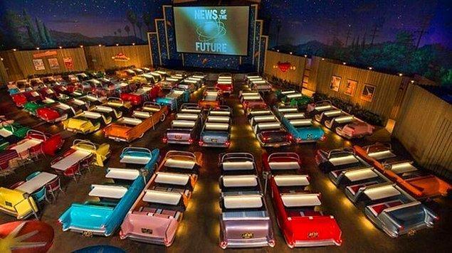 11. Sci-Fi Dine-in Theater Restaurant, Amerika Birleşik Devletleri